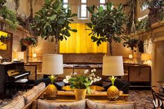 Chiltern firehouse, the London hotel that studio KO designed for André Balazs in Marrakech, Kos Hotel, Interior Architecture, Interior Design, Archi Design, London Hotels, House Made, Architectural Digest, Bars For Home