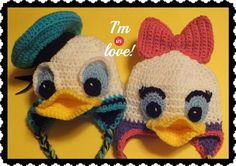 Free Donald & Daisy InspiredHat Pattern©   Craftsy