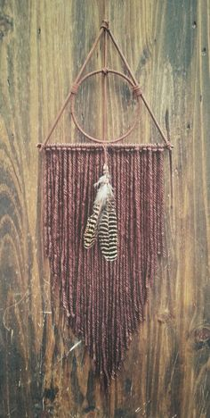 Deathly Hallows Inspired dream catcher Harry Potter Decor