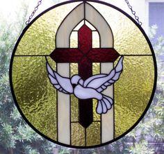 Stained Glass by GlassPelican, Design by Marian Miller @ gospelglass.com