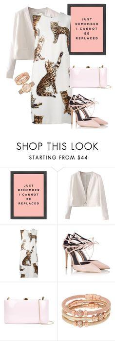 """dress"" by masayuki4499 ❤ liked on Polyvore featuring WithChic, Dolce&Gabbana, Fratelli Karida, Rocio, Henri Bendel and Michael Kors"