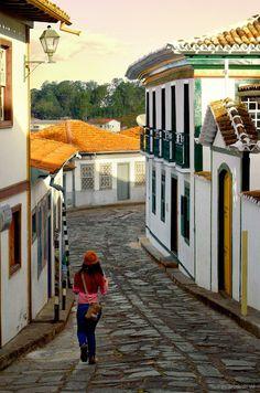 Diamantina, Minas Gerais, Brasil.