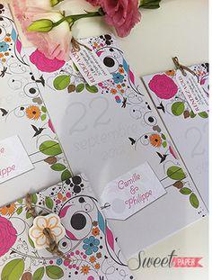 faire part mariage romantique nature www.sweetpaper-fairepart.fr