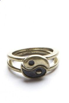 Brandy Melville | Ying Yang Rings - Jewelry - Accessories