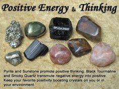 ✯crystals for positive energy & thinking✯