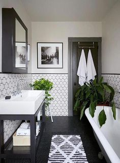 Beautiful master bathroom decor a few ideas. Modern Farmhouse, Rustic Modern, Classic, light and airy bathroom design tips. Bathroom makeover a few ideas and master bathroom renovation a few ideas. Contemporary Bathrooms, Modern Contemporary, Bathroom Interior Design, Interior Modern, Modern Interiors, Interior Paint, Church Interior, Beautiful Interiors, Luxury Interior