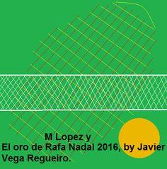 El oro de M López y R Nadal 2016.