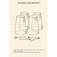 Buyenlarge 'Making the Bridge' by Harry Houdini Vintage Advertisement Size: