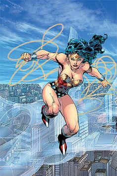 Wonder Woman by Jim Lee Auction your comics on http://www.comicbazaar.co.uk
