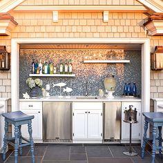 9. Outdoor Kitchen/Bar - 10 Most Popular Kitchens - Coastal Living