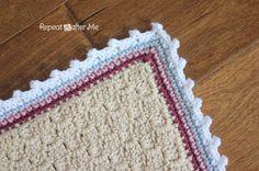 Crochet Corner to Corner (C2C) Baby Sheep Graphgan - Repeat Crafter Me