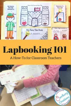 Lapbooks are and amazing way to have students dig deeper into a subject and make connections with in larger concepts. learn how to use this homeschooling staple in your classroom this year! Phonics Lessons, Grammar Activities, Sight Word Activities, Writing Lessons, Writing Activities, Diy Classroom Decorations, Classroom Projects, Classroom Ideas, Teaching Sight Words