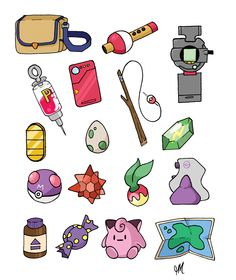 Pokemon Items!!