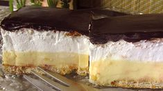Hungarian Recipes, Cheesecake, Dessert Recipes, Food And Drink, Sweets, Cooking, Cake Ingredients, Kitchen, Gummi Candy
