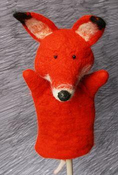 Fox Puppet by Laleebu, via Flickr