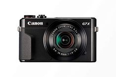 Canon PowerShot X Mark II - Cámara digital compacta de MP (pantalla de apertura zoom óptico de video full HD, WiFi), color negro Best Digital Camera, Best Camera, Digital Slr, Canon Digital, Best Quality Camera, Digital News, Digital Image, Cameras Nikon, Slr Camera