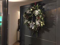 Porch, Wreaths, Home Decor, Balcony, Decoration Home, Door Wreaths, Room Decor, Patio, Deco Mesh Wreaths