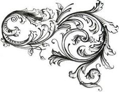 Image Search Results for roses with filigree tattoo