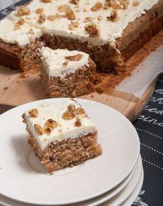 Na het proeven van Ottolenghi's carrot cake kon ik het idee van pompoencake niet meer loslaten. Wat met wortel kan, kan ook met pompoen, zo dacht ik. En dus ging ik aan de slag. Het resultaat mag er zijn. Misschien, heel misschien, vind ik deze pompoencake zelfs nog lekkerder dan met wortel. Proef zelf maar. Wat vind jij? …