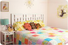 So bright and sunny - gorgeous Patchwork Quilt Inspiration from Danielle Thompson