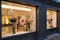 Mulberry Window Display | Spring/Summer, 2014 by Millington Associates