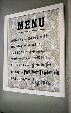 When I start planning weekly meals, this is something I am going to do.