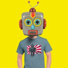 Cool Robot Tee by APESNORT
