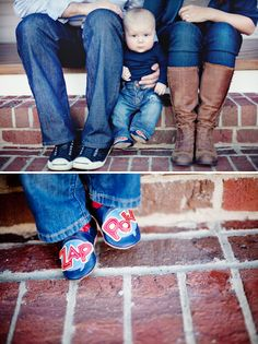 Idea for Tiff, Matt & Baby A: Creative photo op for family of 3 Family Picture Poses, Family Posing, Family Photos, Cute Baby Pictures, Cute Photos, Baby Portraits, Family Portraits, Family Photography, Photography Business