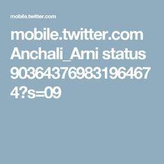 mobile.twitter.com Anchali_Arni status 903643769831964674?s=09