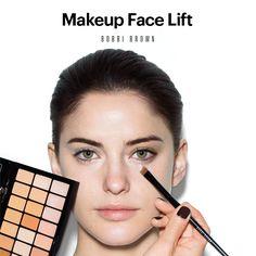 Bobbi Brown's Makeup Face Lift Makeup Lesson