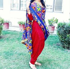 punjabi suits -whatsapp /punjabisboitique , punjabi salwar suit, patiala suis , party wear punjabi suits , international delivery available Phulkari Punjabi Suits, Punjabi Dress, Phulkari Pants, Punjabi Girls, Saree Dress, Pakistani Outfits, Indian Outfits, Indian Clothes, Pakistani Clothing
