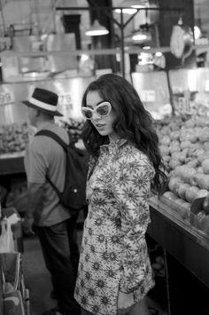 Charli XCX for Urban Outfitters Grunge Fashion, Retro Fashion, High Fashion, Preppy Style, My Style, Retro Style, Charli Xcx, Cute Fall Outfits, Urban Outfitters Dress