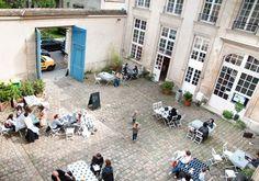Découvrez les cours parisiennes les plus secrètes de la ville... #Paris