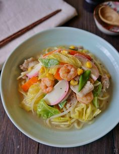 Japanese Food, Japanese Recipes, Junk Food, Noodles, Spaghetti, Food And Drink, Pasta, Dishes, Cooking