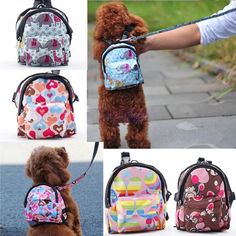FREE Worldwide SHIPPING! $28.80 NOW $18.80 Pet Travel Mini Backpack with Leash This cute colorful travel backpack is your pet best travel companion ever. Your stylish traveler pet will stand out from the crowd and will definitely turn a few head! It is suitable to store disposable bags, foods and some loose items  on the go. #discountvault