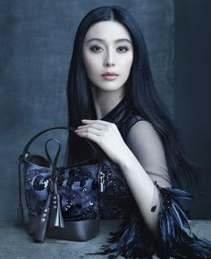 Marc Jacobs' Muse Fan Bingbing in the Louis Vuitton Spring/Summer 2014 Fashion Campaign, shot by Steven Meisel.