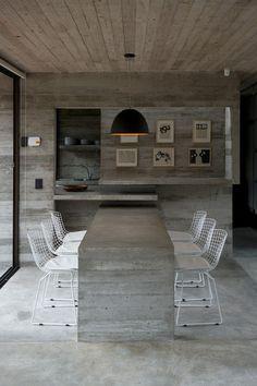 Concrete interior inspiration for your home. // Wenn Beton zum zentralen Gestaltungselement wird: Inspiration für das eigene Zuhause. #enjoysiemens