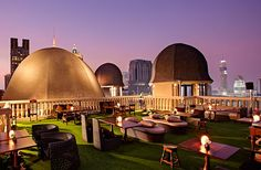 Asia's Coolest Whiskey Bars  THE SPEAKEASY Where: Bangkok, Thailand  A rooftop bar boasting stunning views of Bangkok, The Speakeasy is a favorite watering hole among locals and travelers alike. Located inside Hotel Muse Bangkok, The Speakeasy is spacious, stretching across the hotel's 24th and 25th floors. Inside, there's another surprise: the Blind Pig lounge, another bar within The Speakeasy that specializes in the world's most distinguished and rarefied browns.