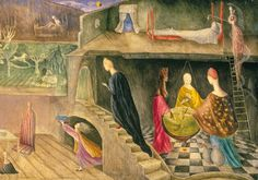 Leonora Carrington, the House, detail