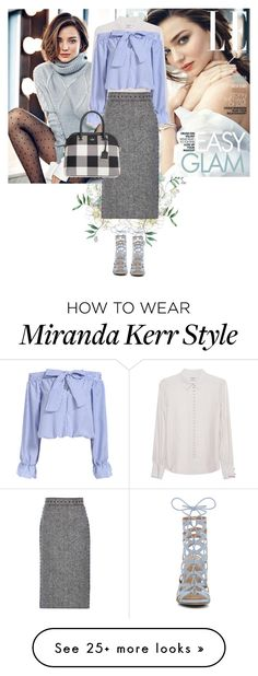 """""""In perfect light"""" by glamrockandlove on Polyvore featuring Kerr®, Frame Denim, Valentino, ALDO, Kate Spade and bows"""