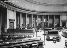 Social Sciences Library, Great Hall, Manchester Central Library, 1960  See more vintage library pics on Flickr http://s.coop/1bev5