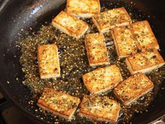 How to cook crispy tofu °°