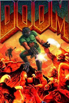 John Romero tells how DOOM's cover was born  #doom #johnromero #doomguy #retrogaming #gaming #videogames #PC #PS4 #XOne #retrogames #games #gamer #gamers #giochi #videogiochi