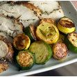Pan-Seared Summer Squash with Crisp Rosemary Recipe on What's Cookin