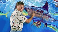 guy harvey art   Dr. Guy Harvey, noted marine biologist, artist, diver, and founder of ...