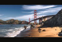 ***GOLDEN GATE BRIDGE*** by Anton Rostovskiy on 500px