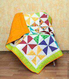 Шьем детское лоскутное одеяло для начинающих. Часть 4. Окантовка и завершение одеяла - Ярмарка Мастеров - ручная работа, handmade