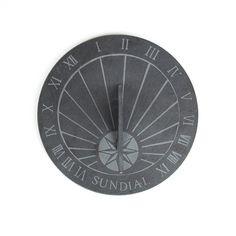 Cadran solaire en schiste