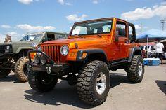 Jeep Wrangler -TJ by geepstir, via Flickr