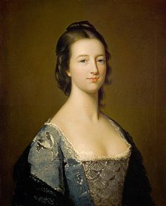 Elizabeth Gunning, Duchess of Hamilton (later Duchess of Argyll), 1733 - 1790, a Famous beauty, by Gavin Hamilton. With no dowry or rank, her beauty secured her and her sister excellent marriages. Elizabeth married the Duke of Hamilton on St. Valentine's Day 1752, only weeks after meeting him at a masquerade. She later went on to marry the Duke of Argyll.
